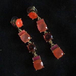 Kate Spade dangly rhinestone earrings